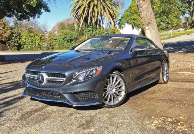2017 Mercedes-Benz S550 Cabriolet Test Drive