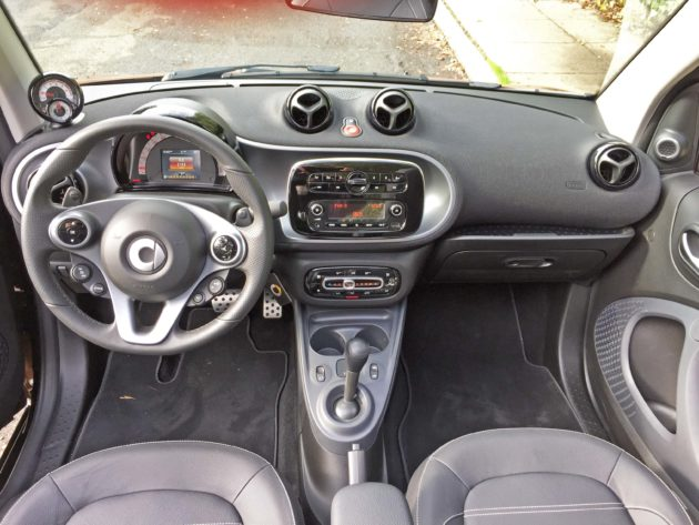 smart fortwo cabrio Dsh