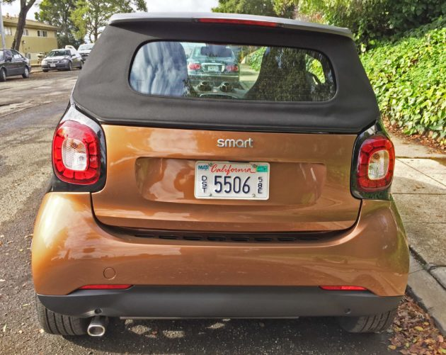 smart fortwo cabrio Tail