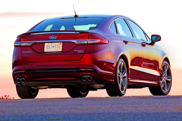 2017 Ford Fusion Sport Test Drive