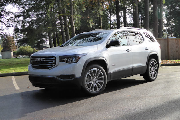 2017 gmc acadia test drive our auto expert. Black Bedroom Furniture Sets. Home Design Ideas