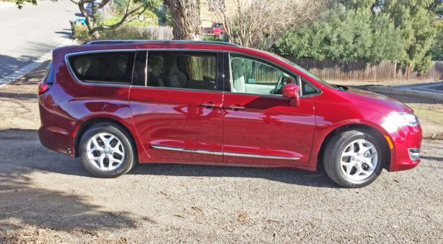 Chrysler Pacifica Trg L+ RSD