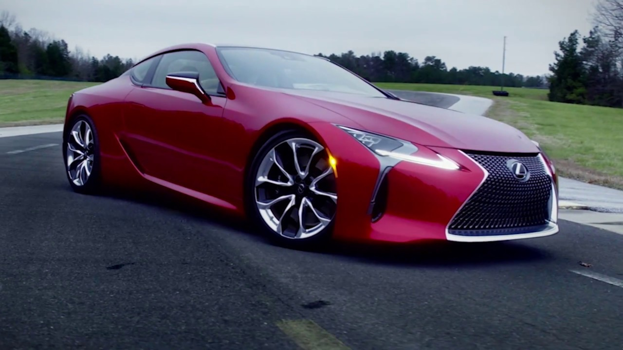 FIRST DRIVE 2018 LEXUS LC 500 AND LC 500Hnbsp