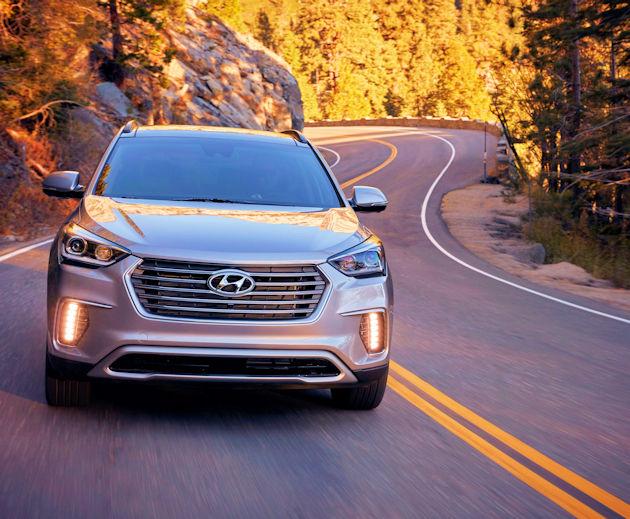 2017 Hyundai Santa Fe Test Drive