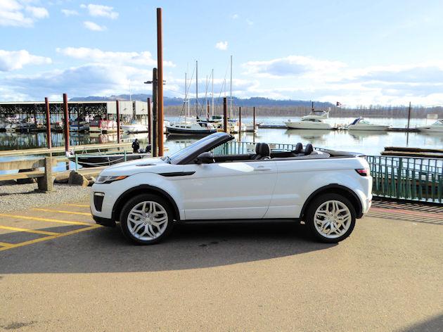 2017 Range Rover Evoque Convertible Test Drive