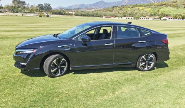 Honda Clarity Fuel Cell LSD
