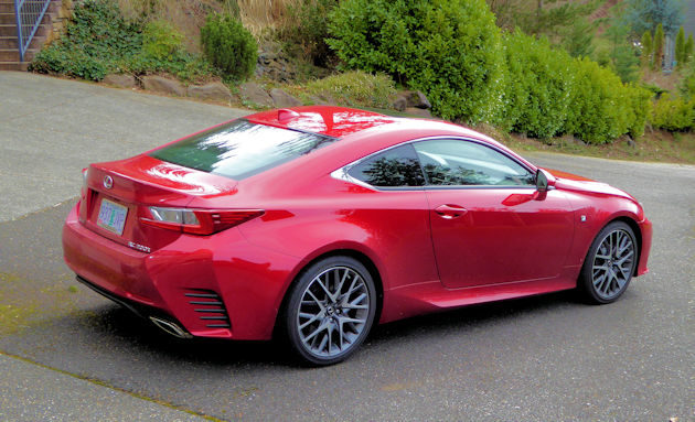 The 2017 Lexus Pricing Ranges From 41 130 Including Destination Charge For Rc Turbo To 45 235 Rc300 Up 49 850 Awd 350 F