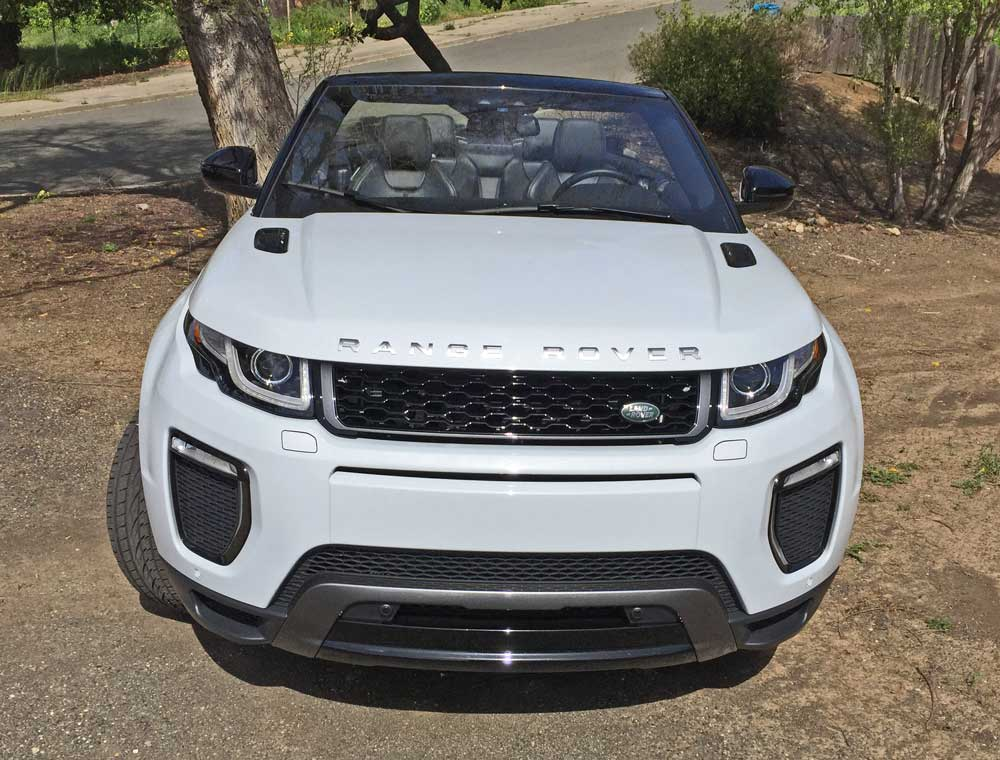 2017 range rover evoque convertible test drive our auto. Black Bedroom Furniture Sets. Home Design Ideas