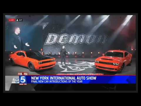 Fox 5 San Diego NY Auto Show coveragenbsp