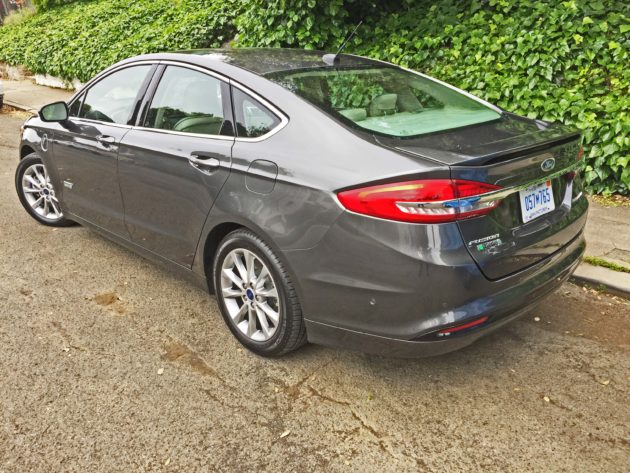 Ford Fusion Energi LSR