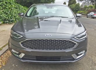 Ford Fusion Energi Nose