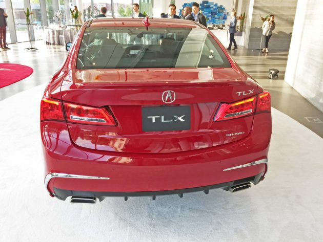 Acura TLX Adv Tail