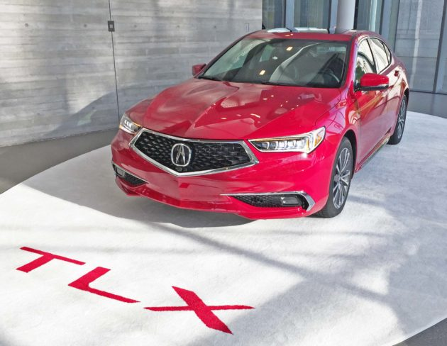 2018 Acura Tlx And A Spec Test Drive Our Auto Expert