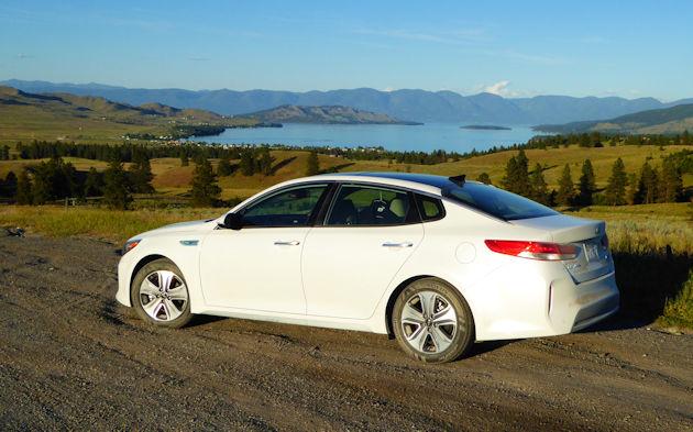 2017 Kia Optima Hybrid Road Trip