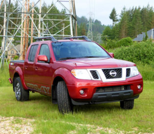 2017 Nissan Frontier front 2