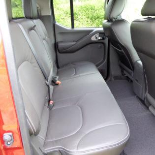 2017 Nissan Frontier rear seat