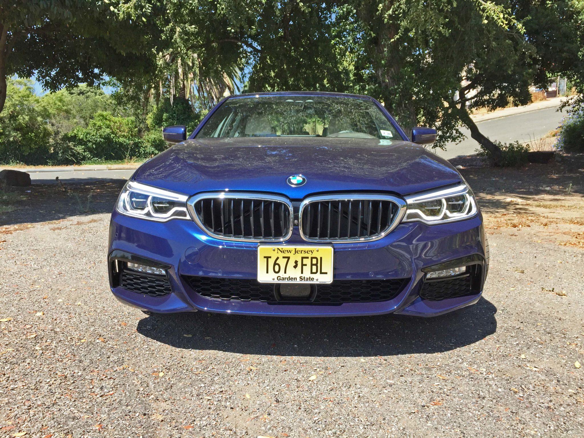 BMW 540i Nose