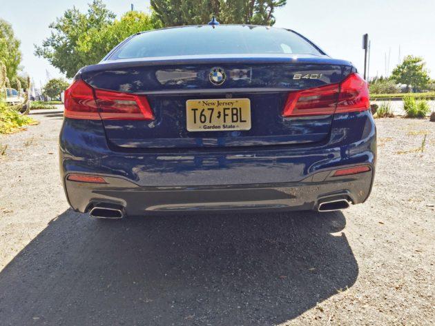 BMW 540i Tail