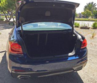 BMW 540i Trnk