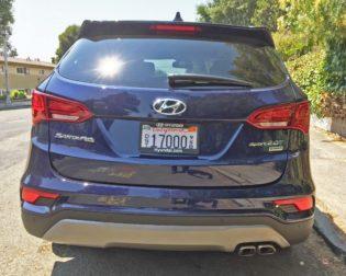 Hyundai Santa Fe Sport Tail