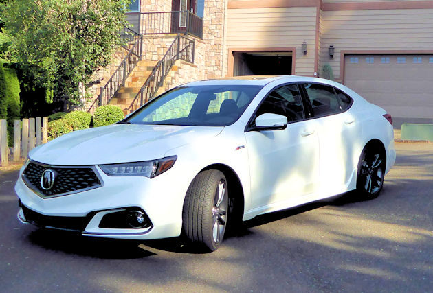 2018 Acura TLX A-Spec Test Drive