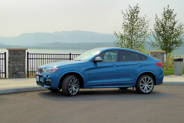 BMW X4 M40i Test Drive