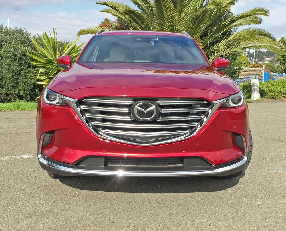 Mazda-CX-9-GT-Nose