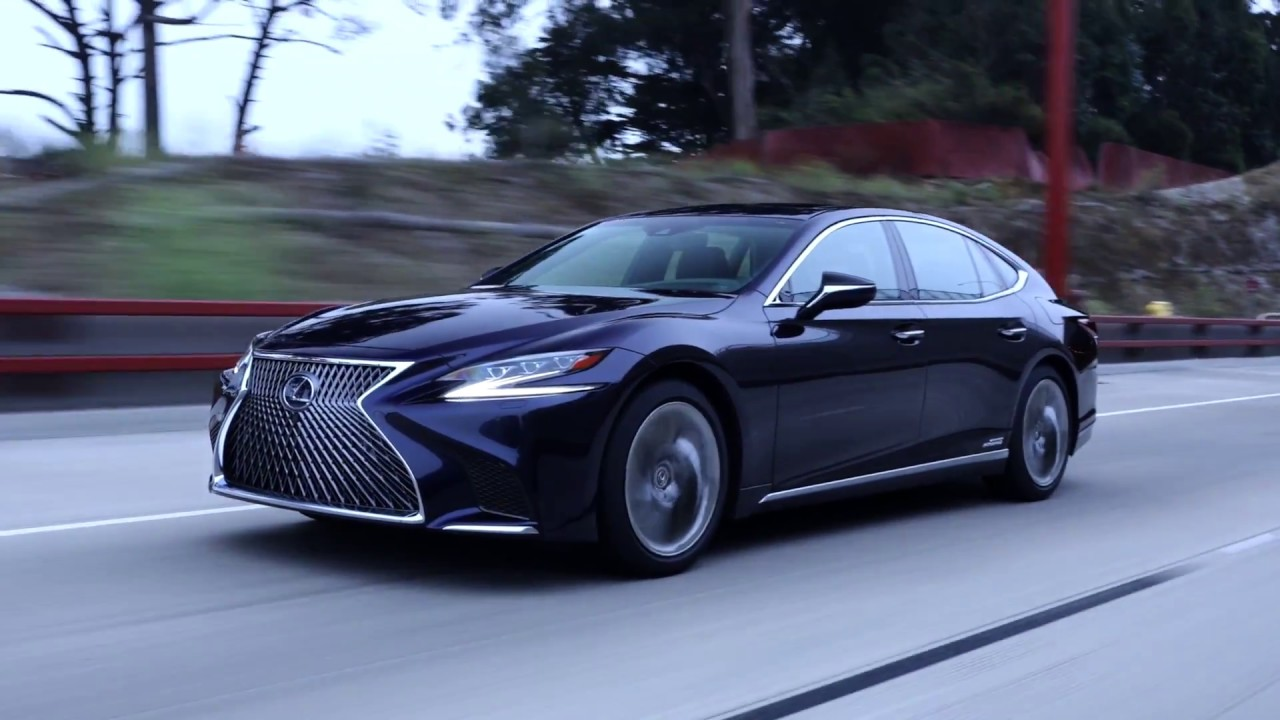The New Lexus LS We tried to run over our producernbsp
