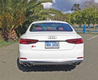 Audi S5 Sportback Tail