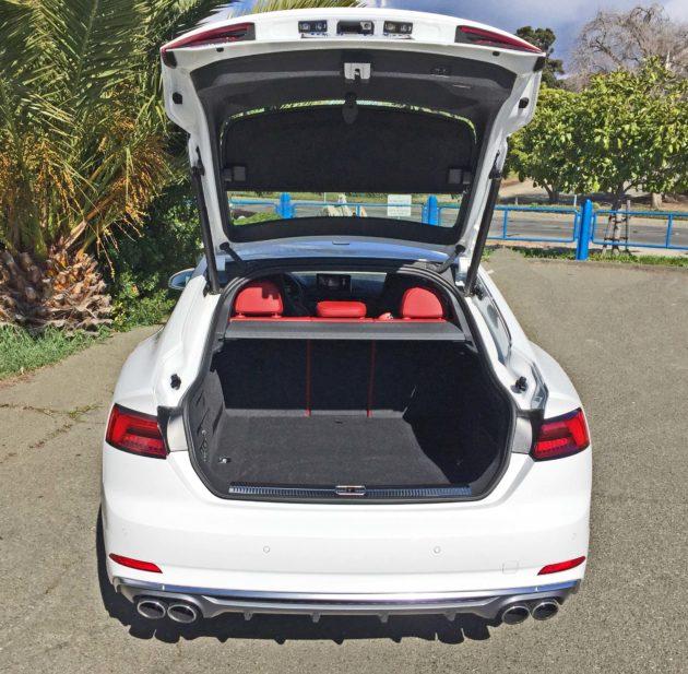 Audi S5 Sportback Trnk