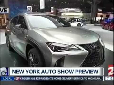Mike Caudill on Fox 2 8211 Detroit New York Auto Shownbsp