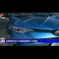Fox 31 Denver – 4-23-18 – Mike Caudill – America's Greenest Cars | Our Auto Expert