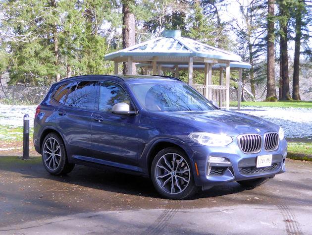 2018 BMW X3 M40i Test Drive