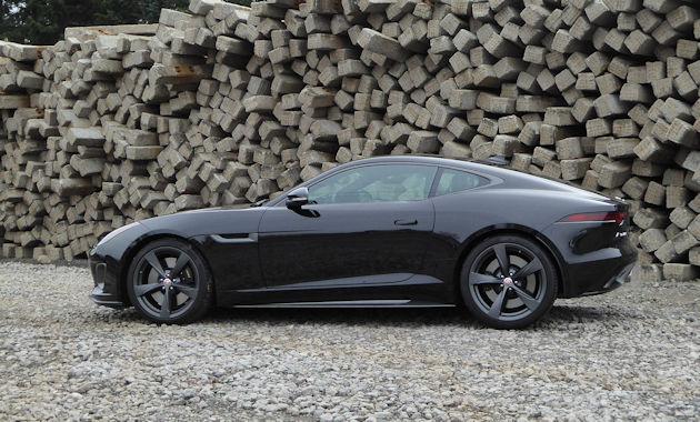 Jaguar F-Type 400 Sport Coupe AWD Test Drive