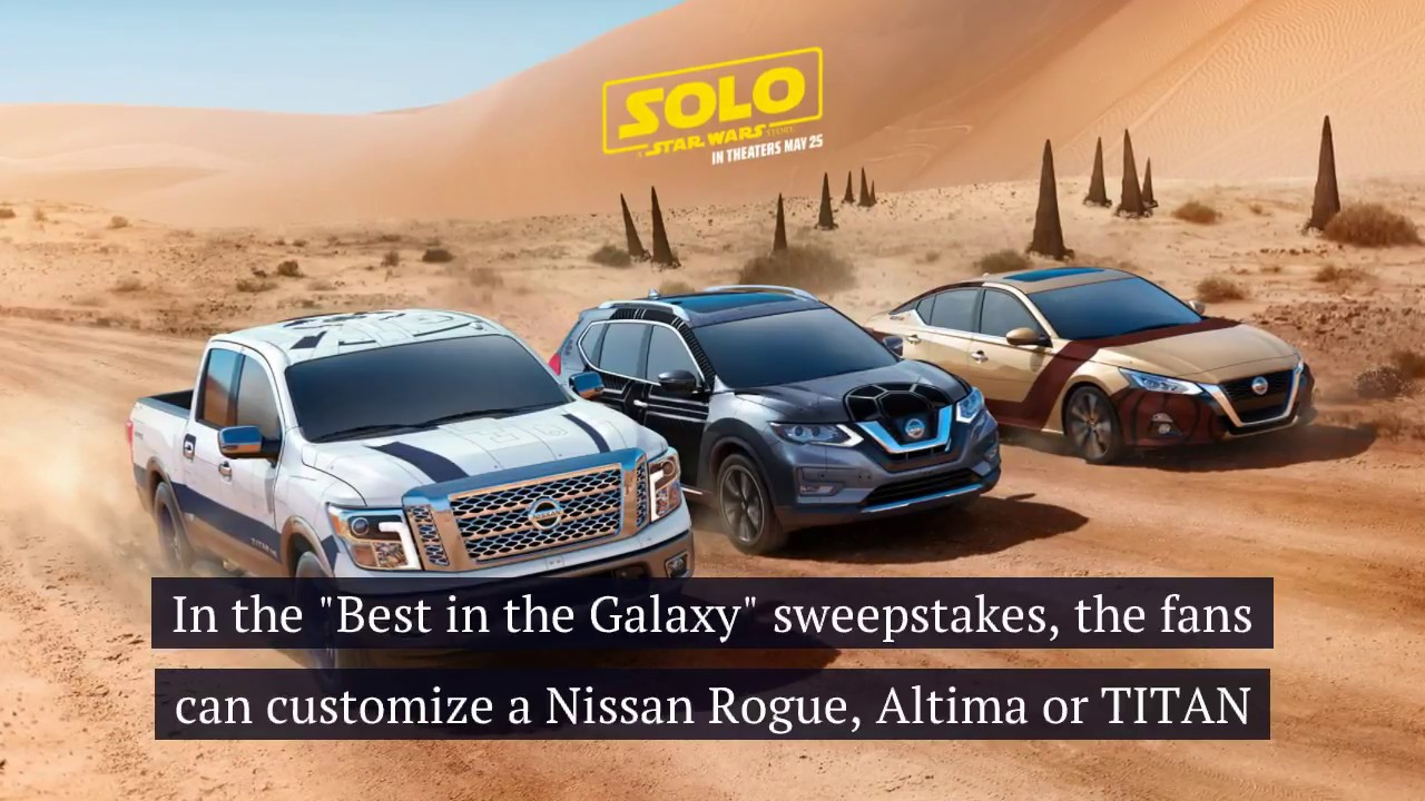 Nissan celebrates Star Wars Day with new marketing campaignnbsp