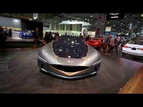 Genesis Essentia concept and VW Atlas Tanoak Conceptnbsp