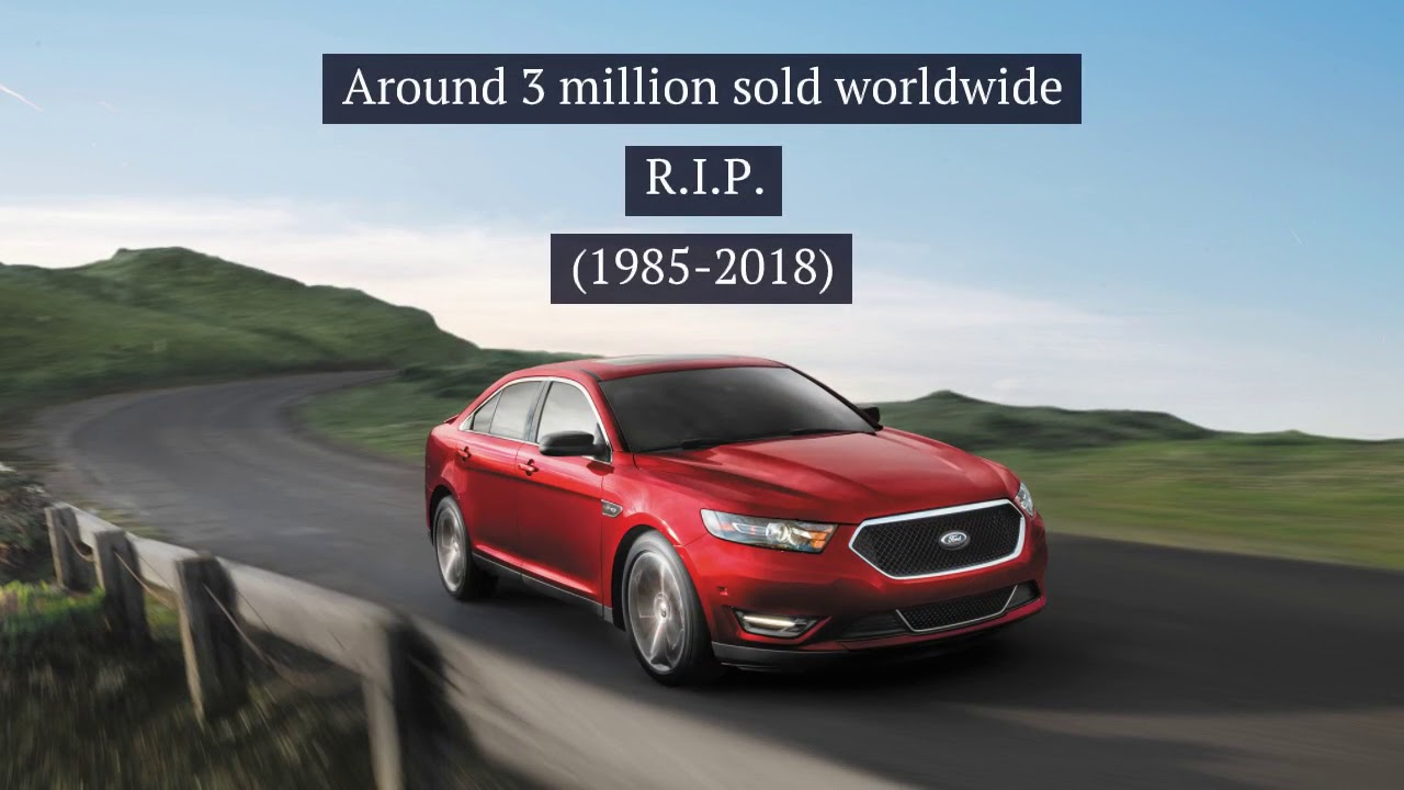 Ford Stop Production of these carsnbsp
