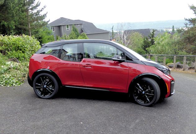 2018 BMW i3s with Range Extender Test Drive