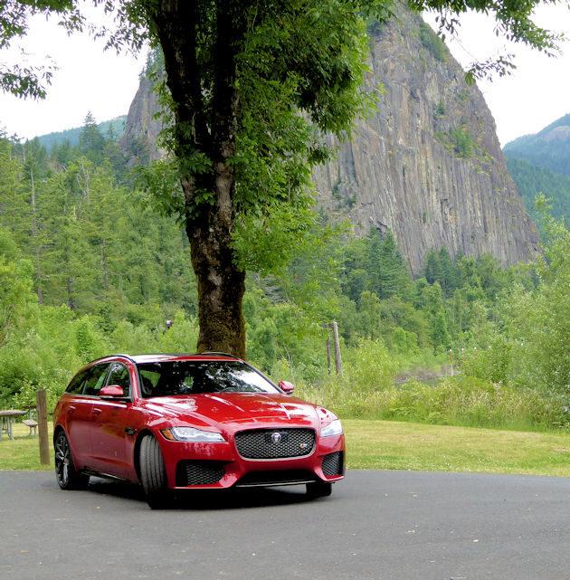 Jaguar Xf Sportbrake: 2018 Jaguar XF Sportbrake S AWD Test Drive