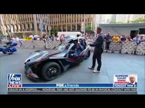 Mike Caudill on Fox and Friends talking about Vehicles Hitting the Road This Summernbsp