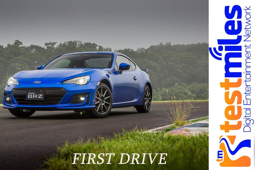 FIRST DRIVE 2017 SUBARU BRZ LIMITEDnbsp