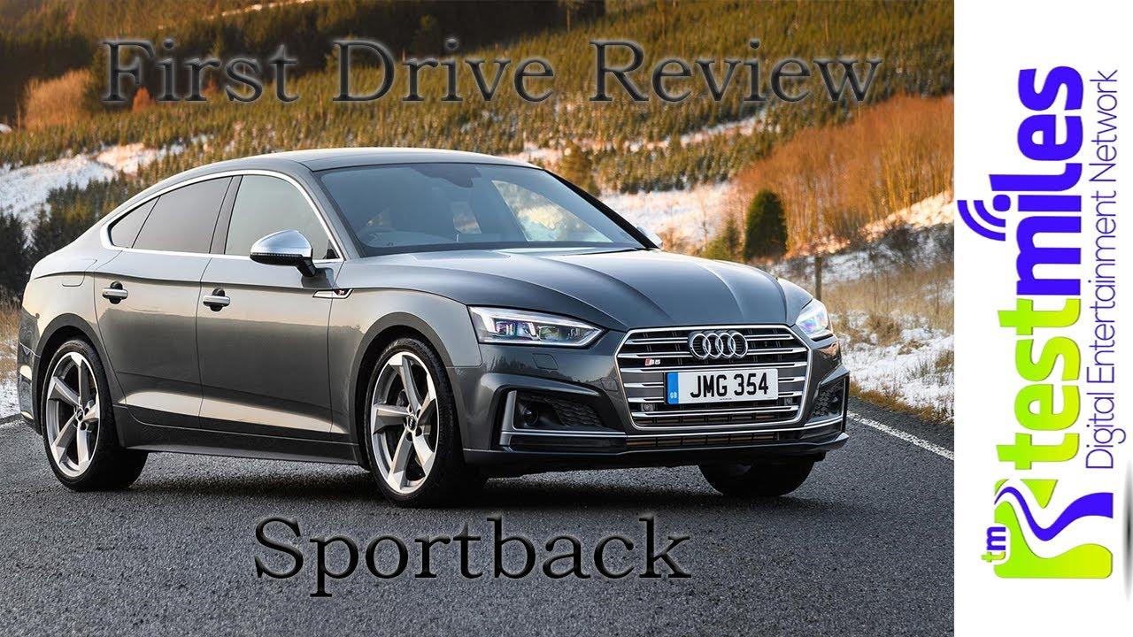 2018 Audi S5 038 A5 Sportback Quick Drive through the hillsnbsp