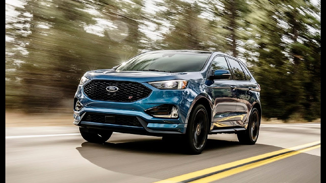 Ford8217s First Performance SUV 2019 Ford Edge STnbsp