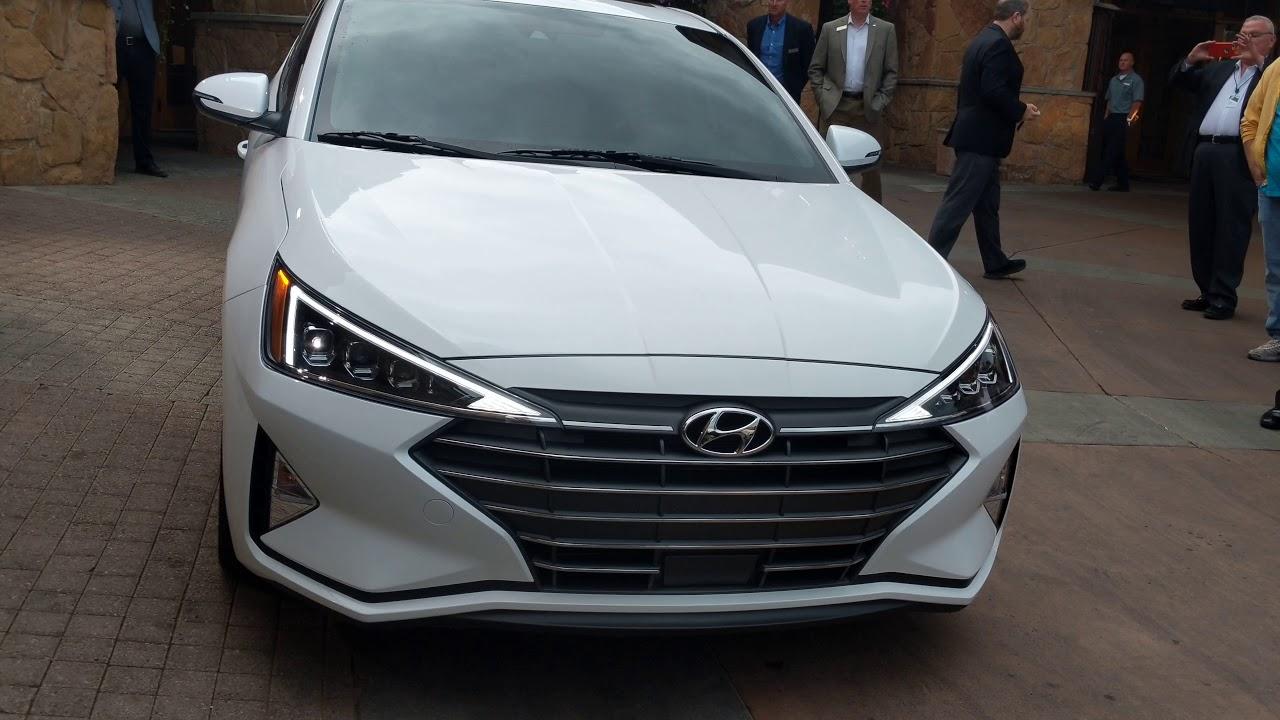 Surprise World Unveiling 2019 Hyundai Elantranbsp