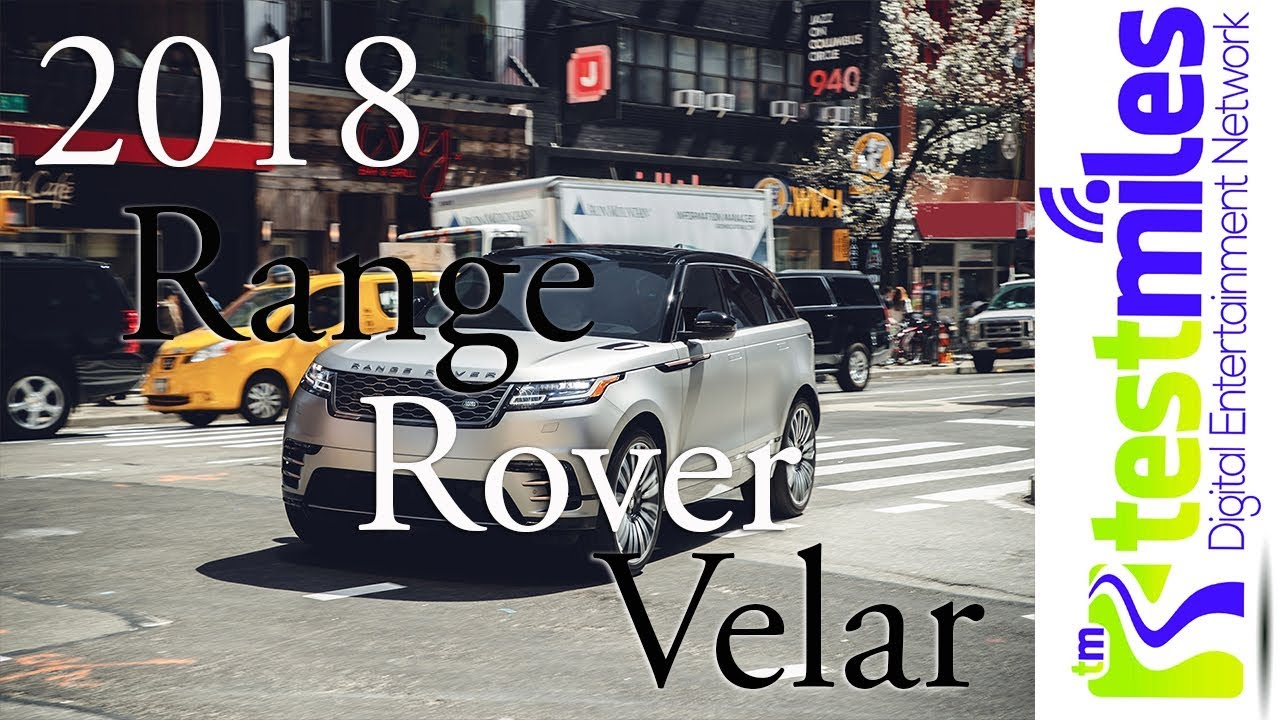 Who8217s excited for this || 2018 Land Rover Range Rover Velarnbsp