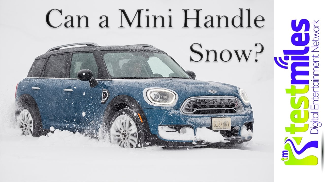 2017 Mini Countryman using ALL4 in the Snowy Mountainsnbsp