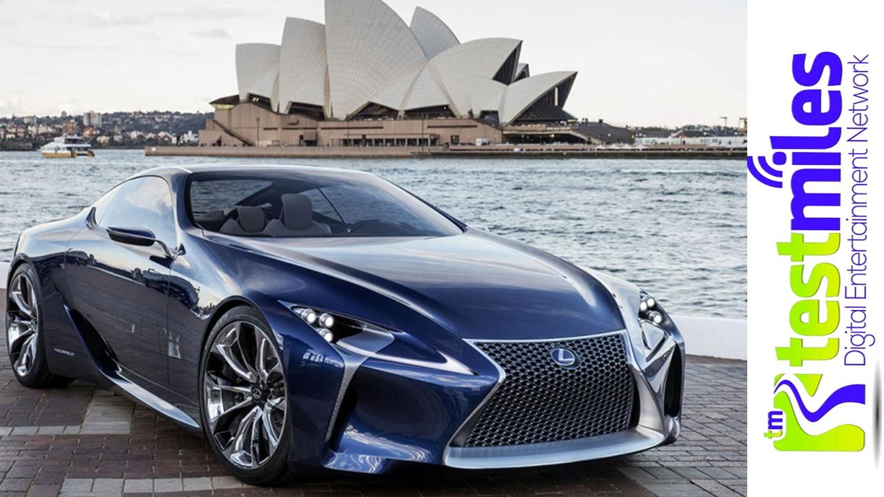 Lexus LC 500 V8 and Hybrid Sizzle Reelnbsp