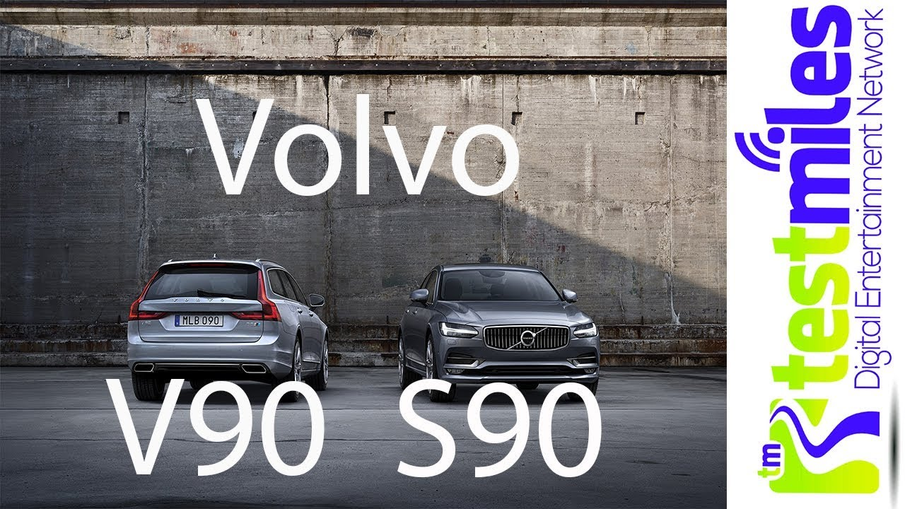 First Drive 2018 Volvo S90 and V90nbsp