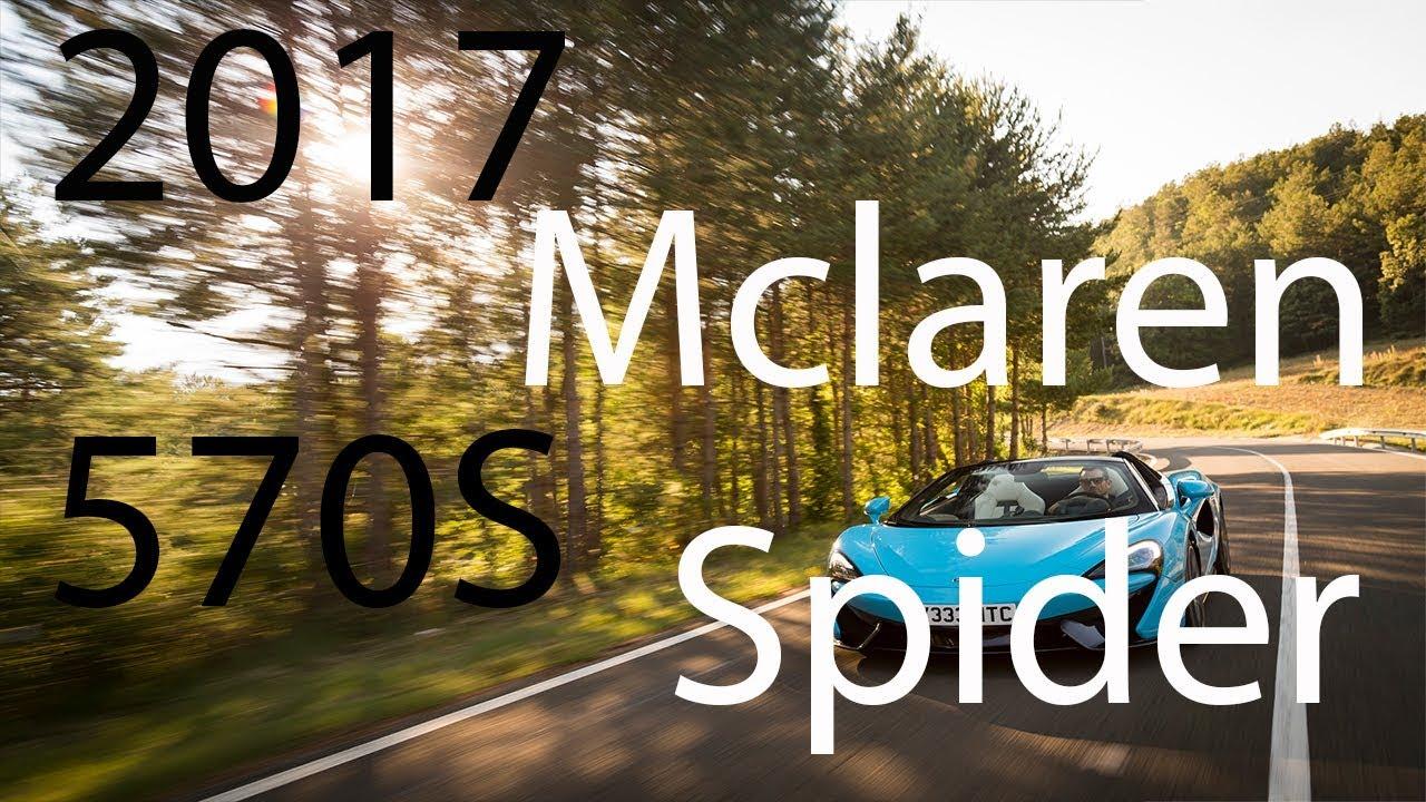 120mph in a McLaren 570S Spidernbsp