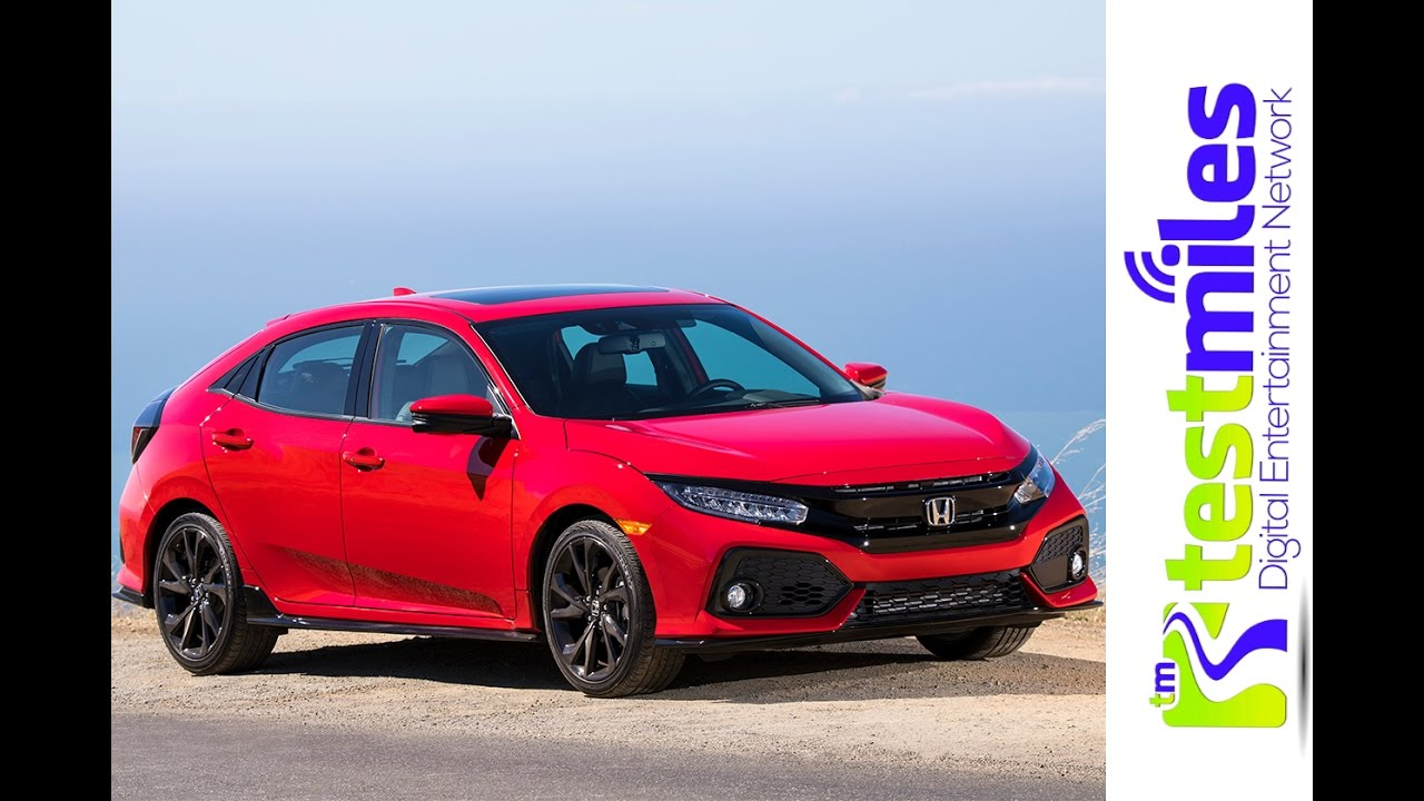 2017 Honda Civic Hatchback Sport First Drive Does She Slidenbsp